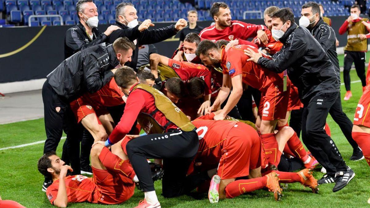 Nordmazedonien gewinnt in Deutschland