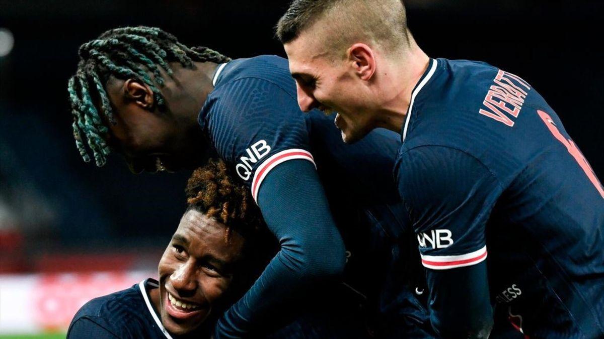Moise Kean - PSG-Strasbourg - Ligue 1 2020/2021 - Getty Images