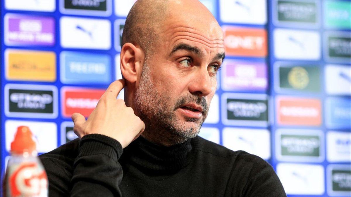 Premier League | Pep Guardiola, managerul lui Manchester City