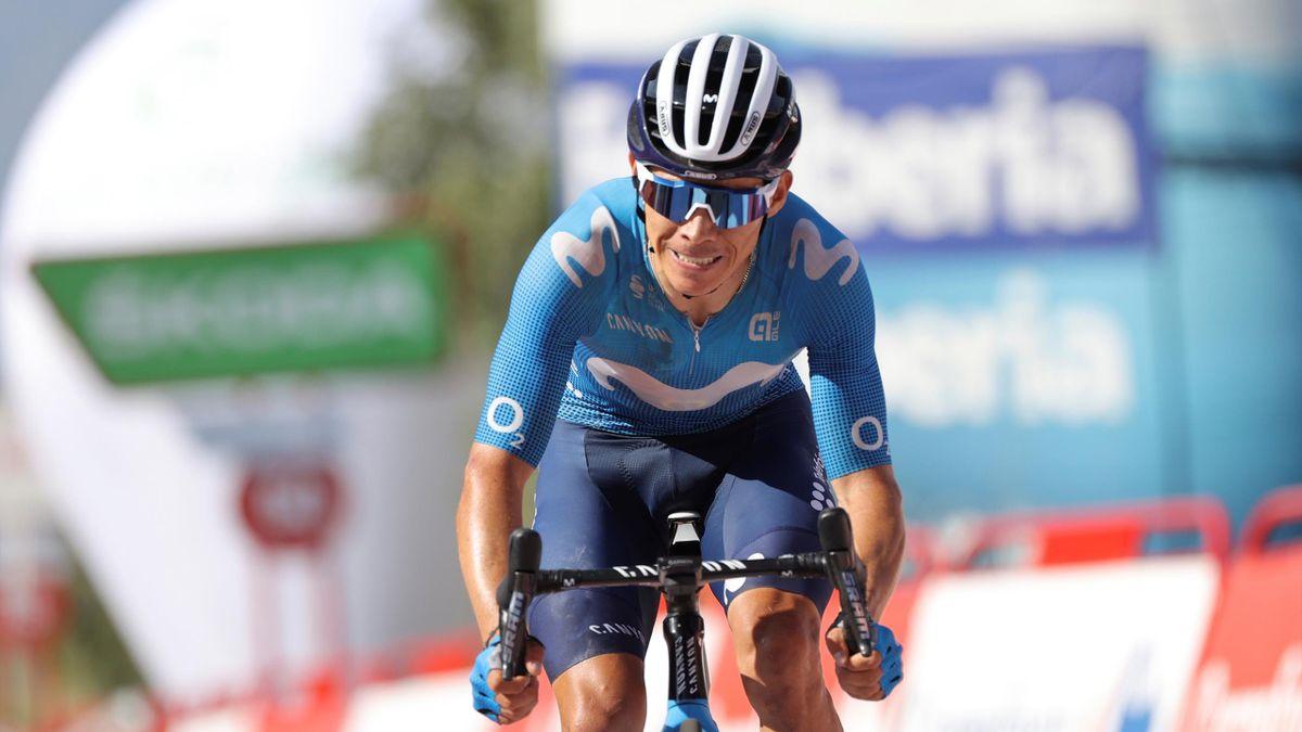 Miguel Ángel López (Movistar Team). Vuelta a España 2021
