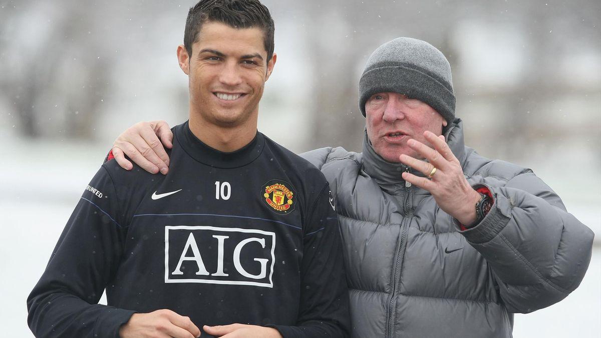 Cristiano Ronaldo and Sir Alex Ferguson, 2009