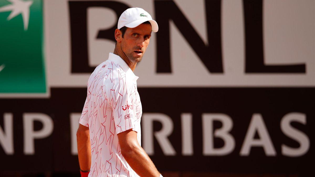 Novak Djokovic beim Masters in Rom