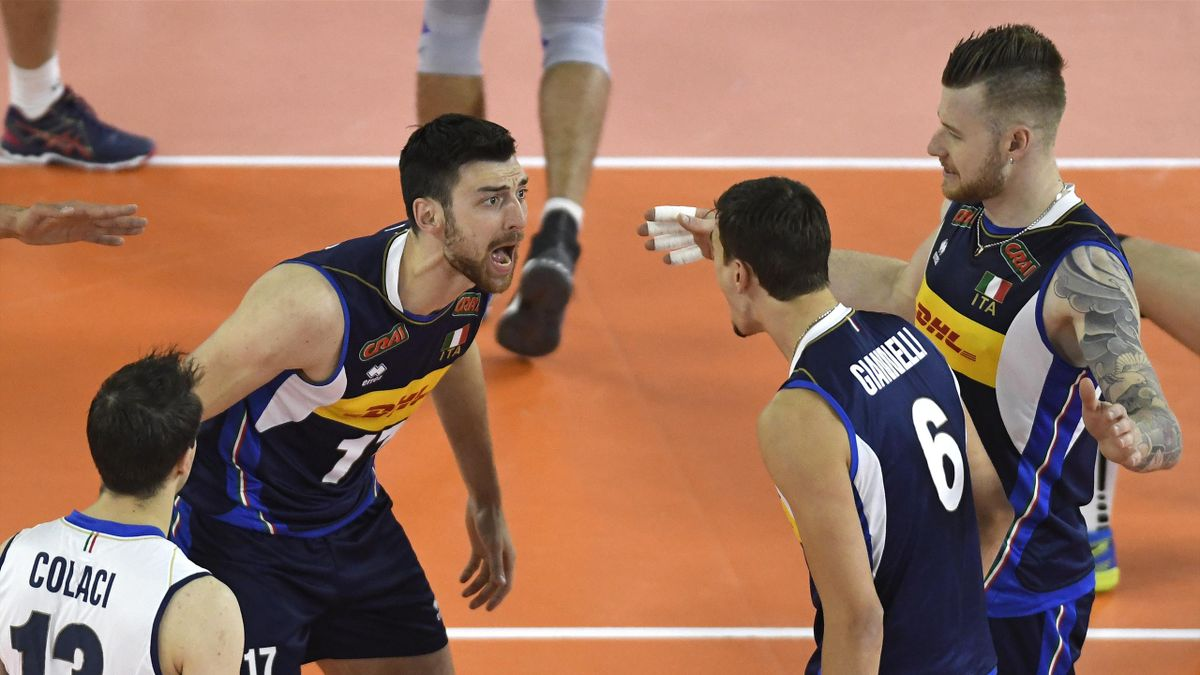 Anzani-Giannelli - Italy volleyball 2018 (FIVB)