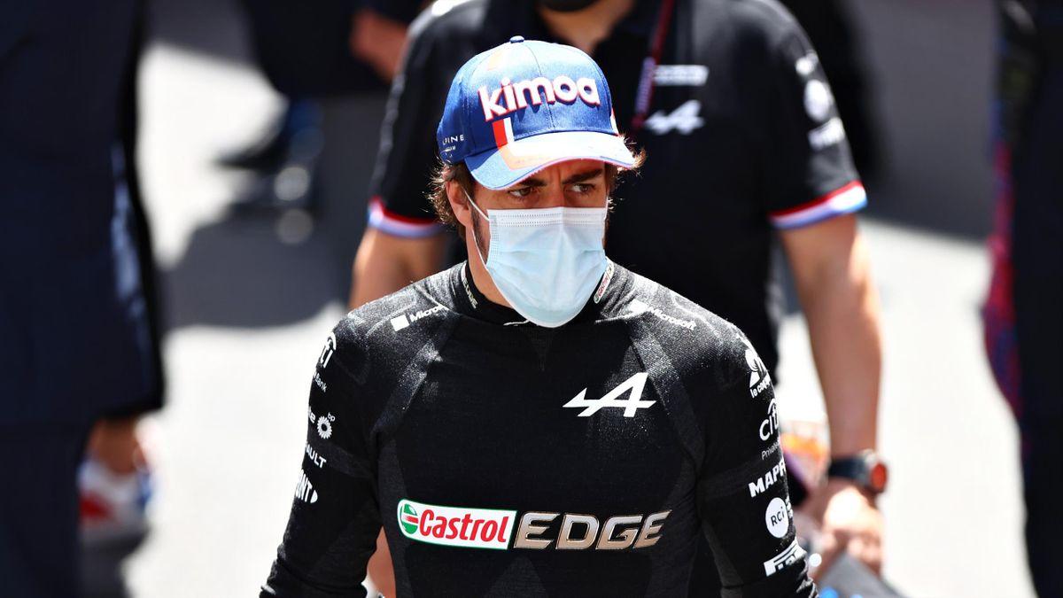 Fernando Alonso, en el Gran Premio de Mónaco.