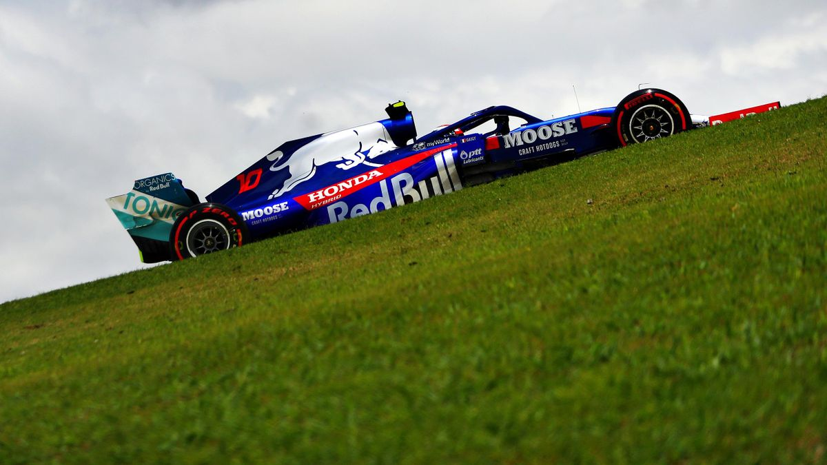 Pierre Gasly (Toro Rosso) au Grand Prix du Brésil 2019