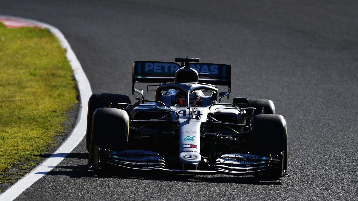 Lewis Hamilton in Suzuka