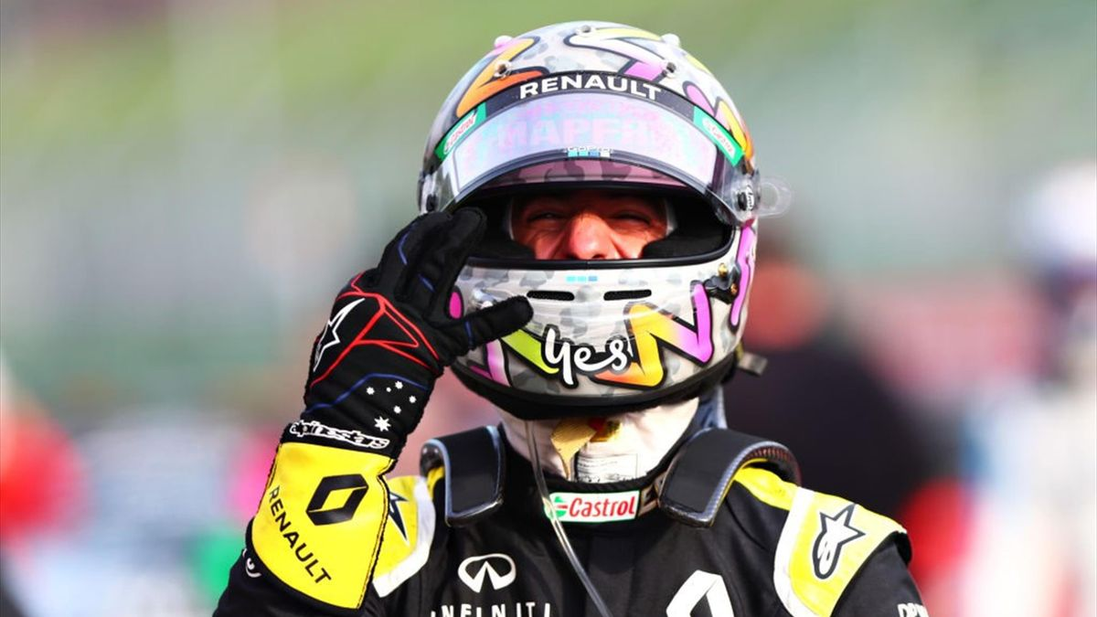 Daniel Ricciardo (Renault) au Grand Prix d'Emilie-Romagne 2020