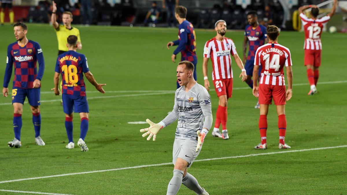ter Stegen - Barcelona-Atlético Madrid - Liga 2019/2020 - Getty Images