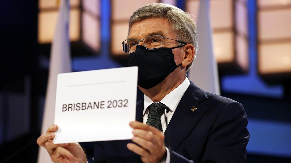 Thomas Bach kondigt Brisbane aan als gastheer van de Spelen in 2032