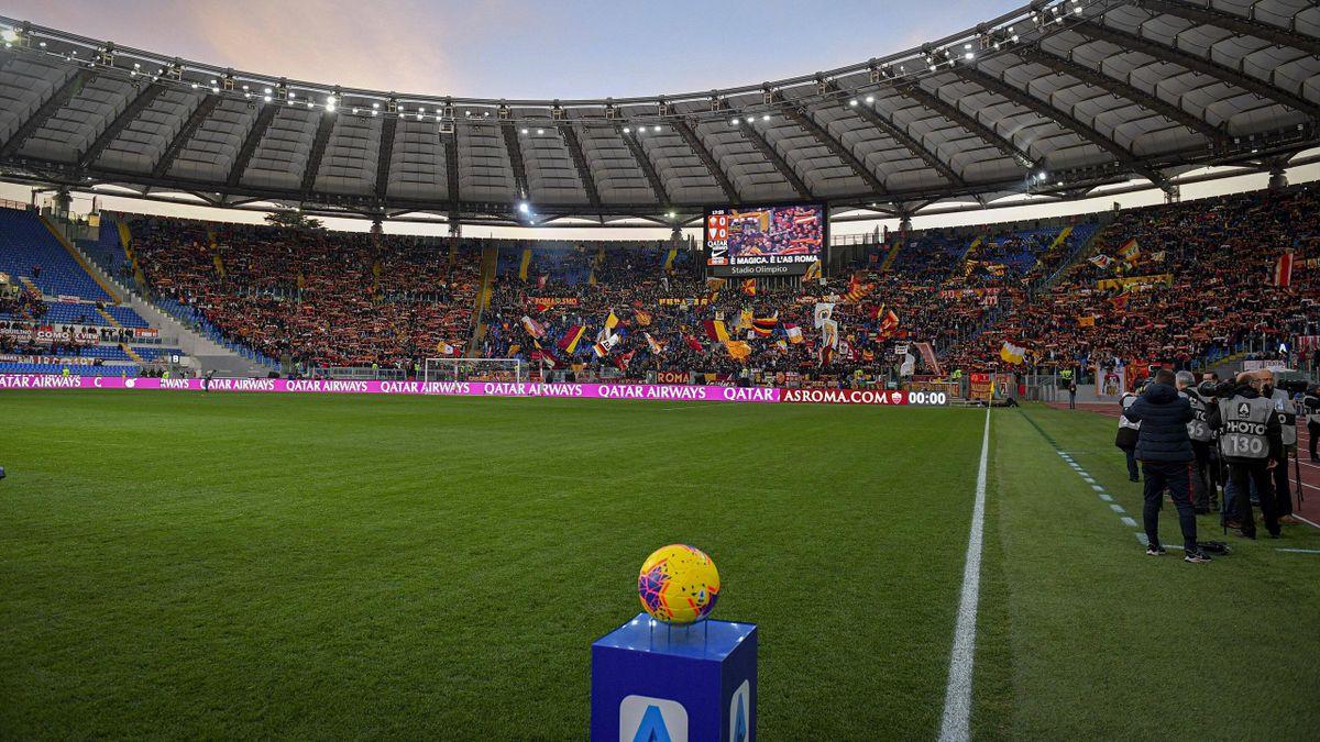 In der Serie A wird der Ball womöglich in dieser Saison nur noch in Rom rollen