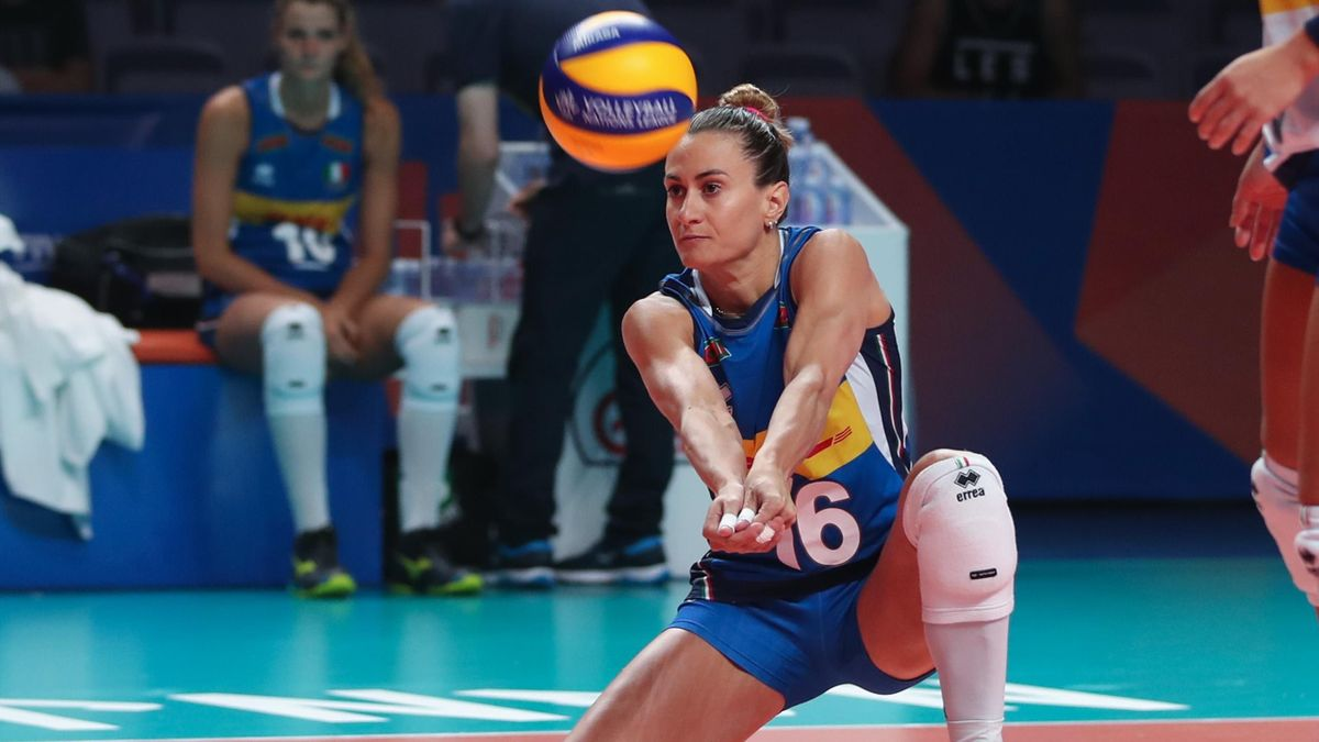 Lucia Bosetti - Volleyball Nations League 2019 (credit: FIVB)