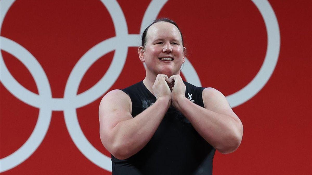 Laurel Hubbard alle Olimpiadi di Tokyo 2020