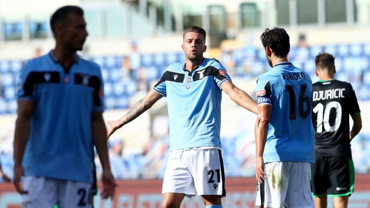 Milinkovic - Lazio-Sassuolo - Serie A 2019/2020 - Getty Images
