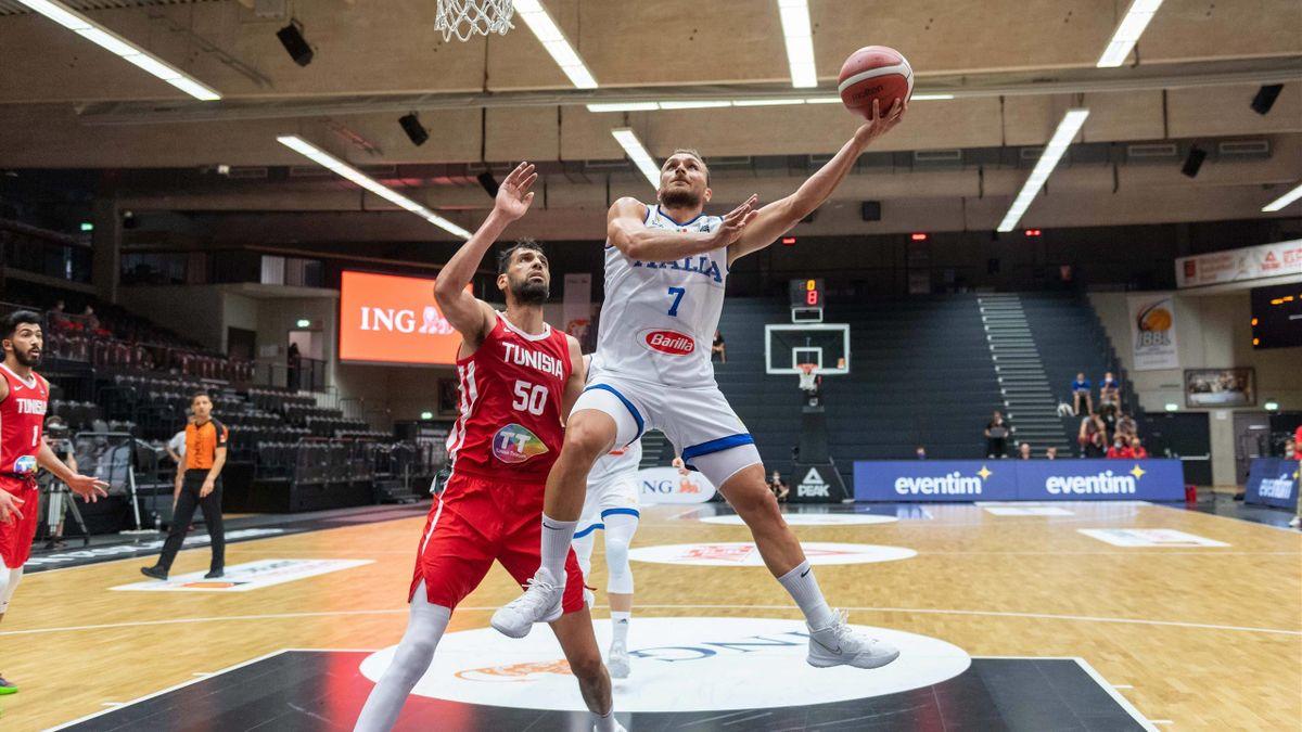Stefano Tonut, Salah Mejri, Italia-Tunisia, torneo di Amburgo 2021