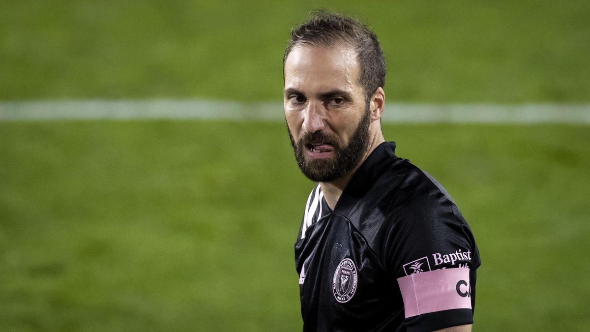 Gonzalo Higuain, Inter Miami ottobre 2020 (Getty Images)