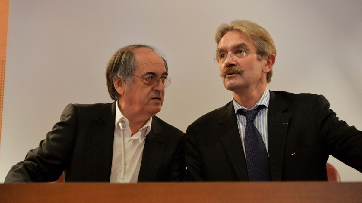 Noël Le Graët et Frédéric Thiriez - 2013