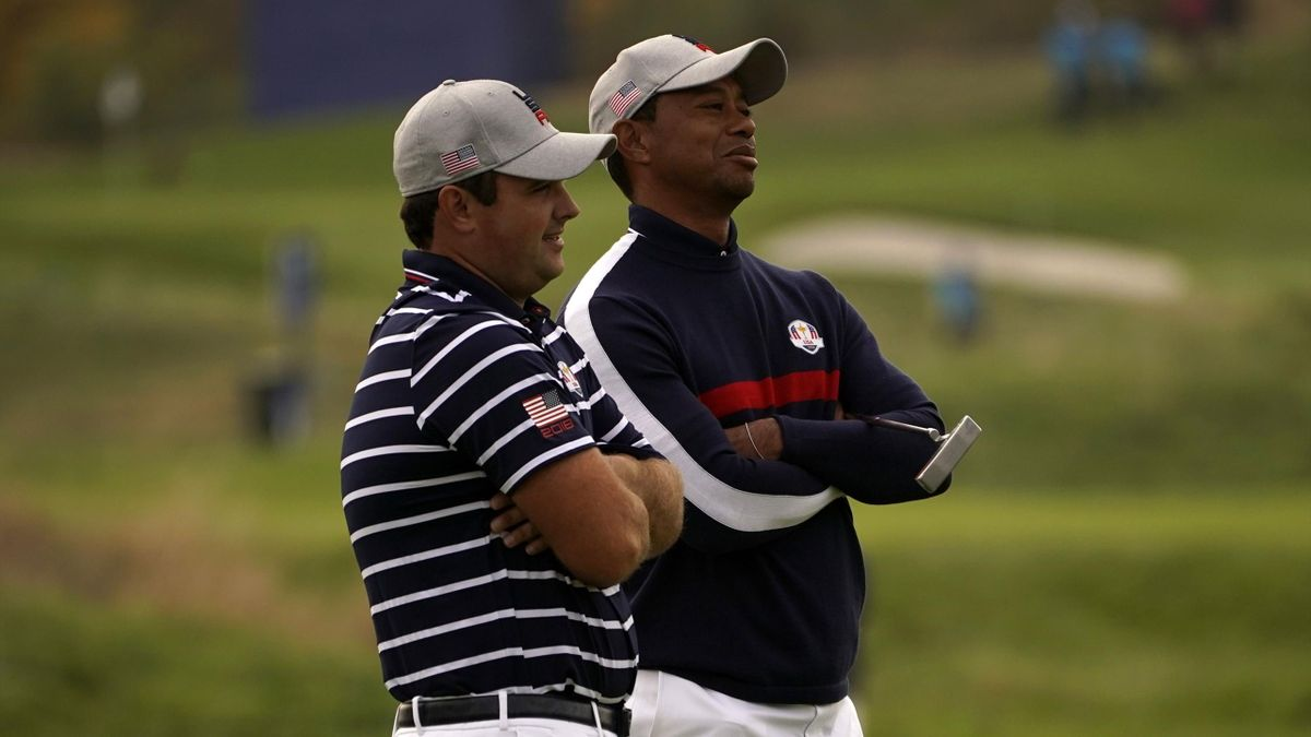 Woods and Patrick Reed were omitted from the afternoon foursomes