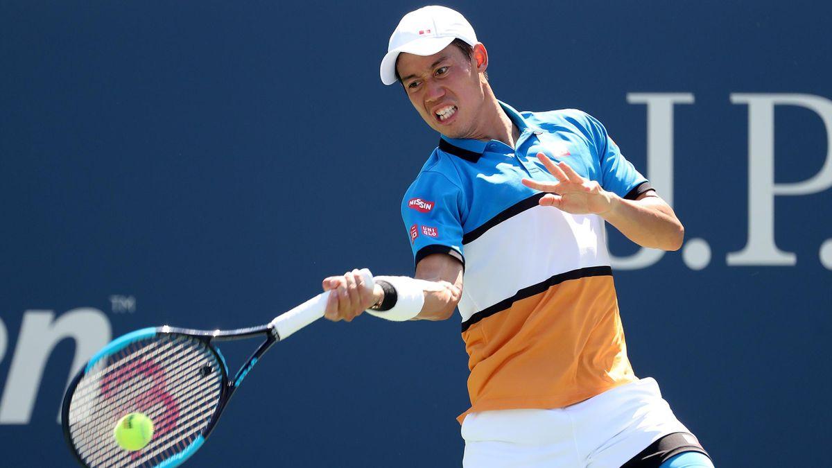 Kei Nishikori à l'US Open en 2019