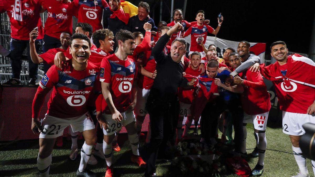 Quel avenir pour les champions de France du LOSC 2021 ?