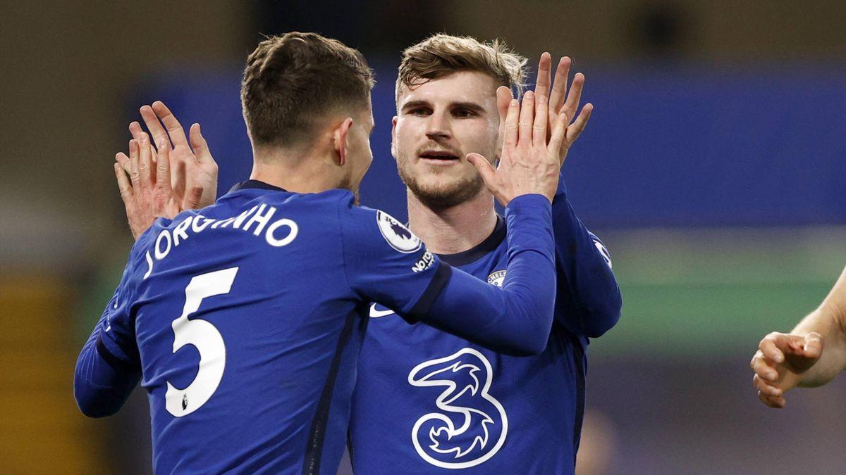 Der FC Chelsea jubelt über den Heimsieg gegen den FC Everton