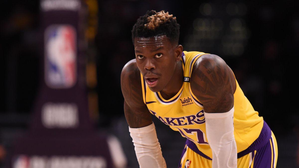 Dennis Schröder scheiterte mit den Los Angeles Lakers früh in den Play-offs