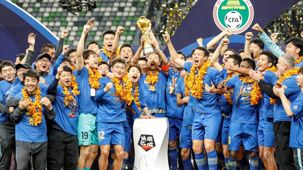Jiangsu FC won the Chinese Super League title last season but will not defend it this campaign