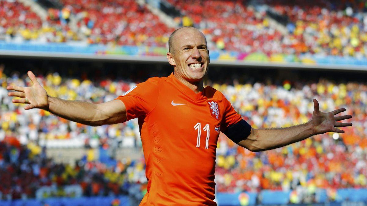 Arjen Robben, maître atout des Pays-Bas