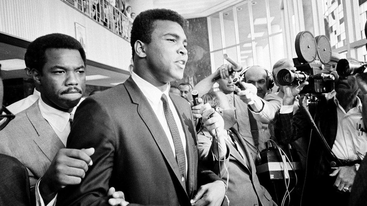 Muhammad Ali weigert sich 1967, am Vietnam-Krieg teilzunehmen