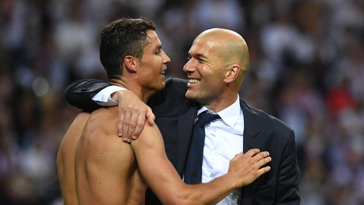 Real Madrid unter Zinédine Zidane auf Rekord- und Triple-Kurs - Eurosport
