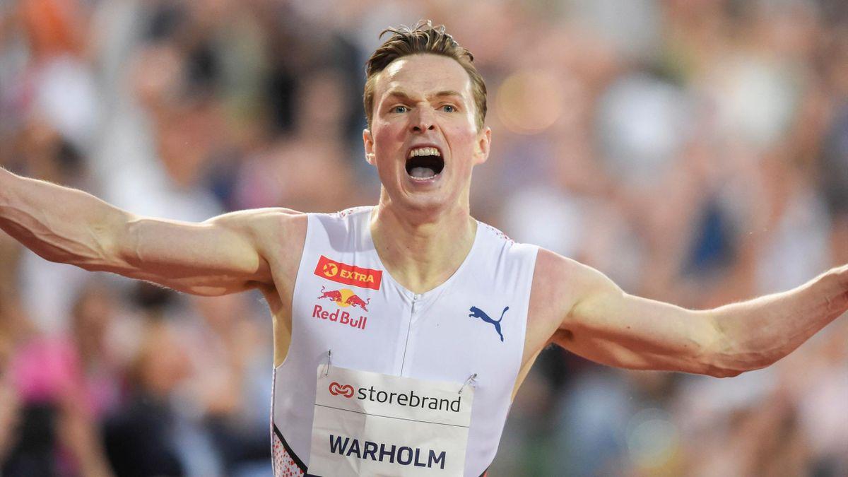 Karsten Warholm broke a 400m hurdles world record which had stood 29 years