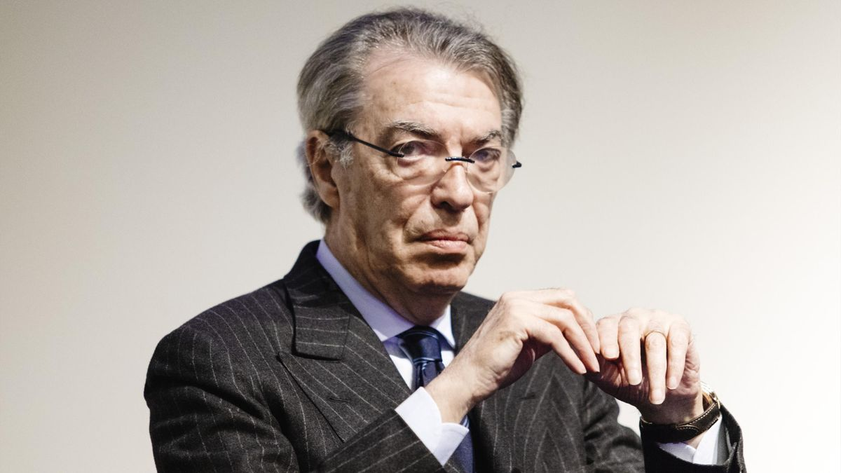 L'ex presidente dell'Inter Massimo Moratti