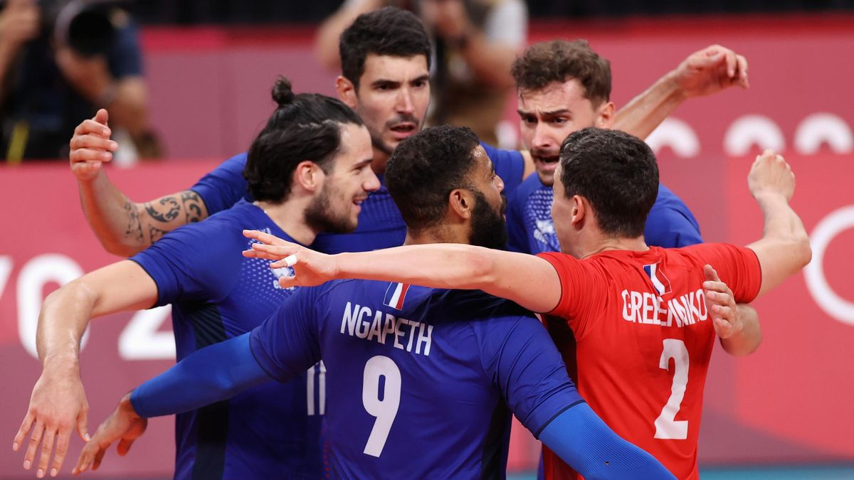 france win volley