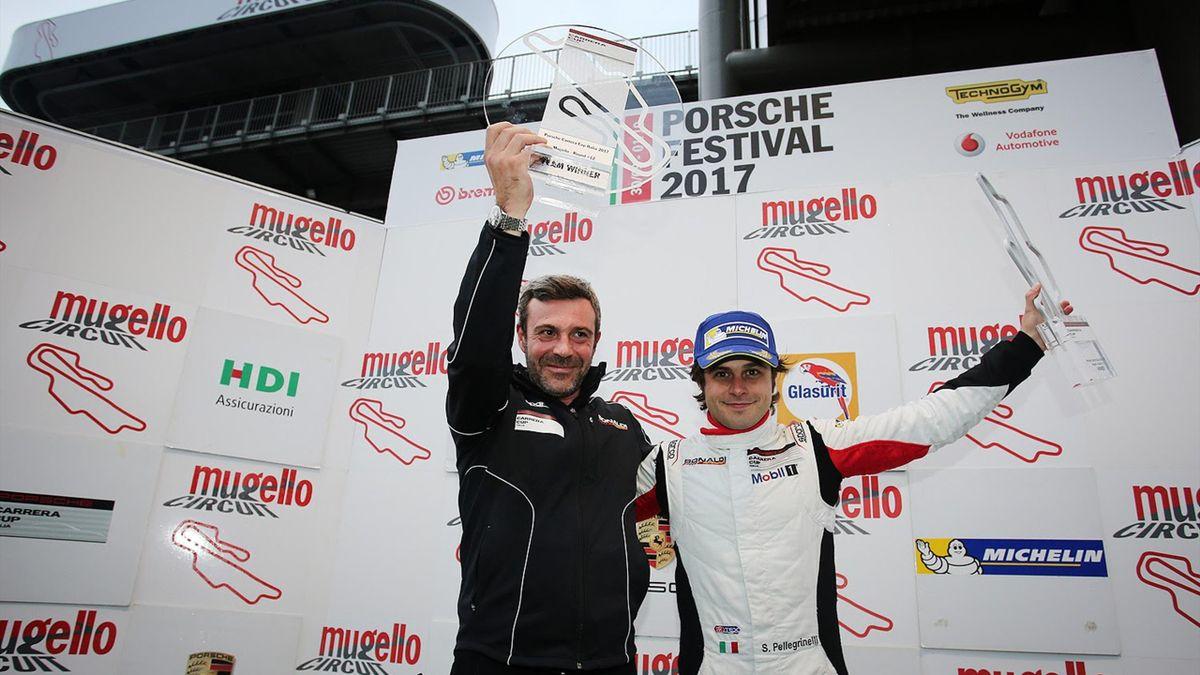 Prima vittoria di Pellegrinelli nella Carrera Cup Italia al Mugello