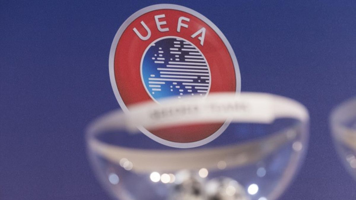 Drawing lots UEFA - Illustration
