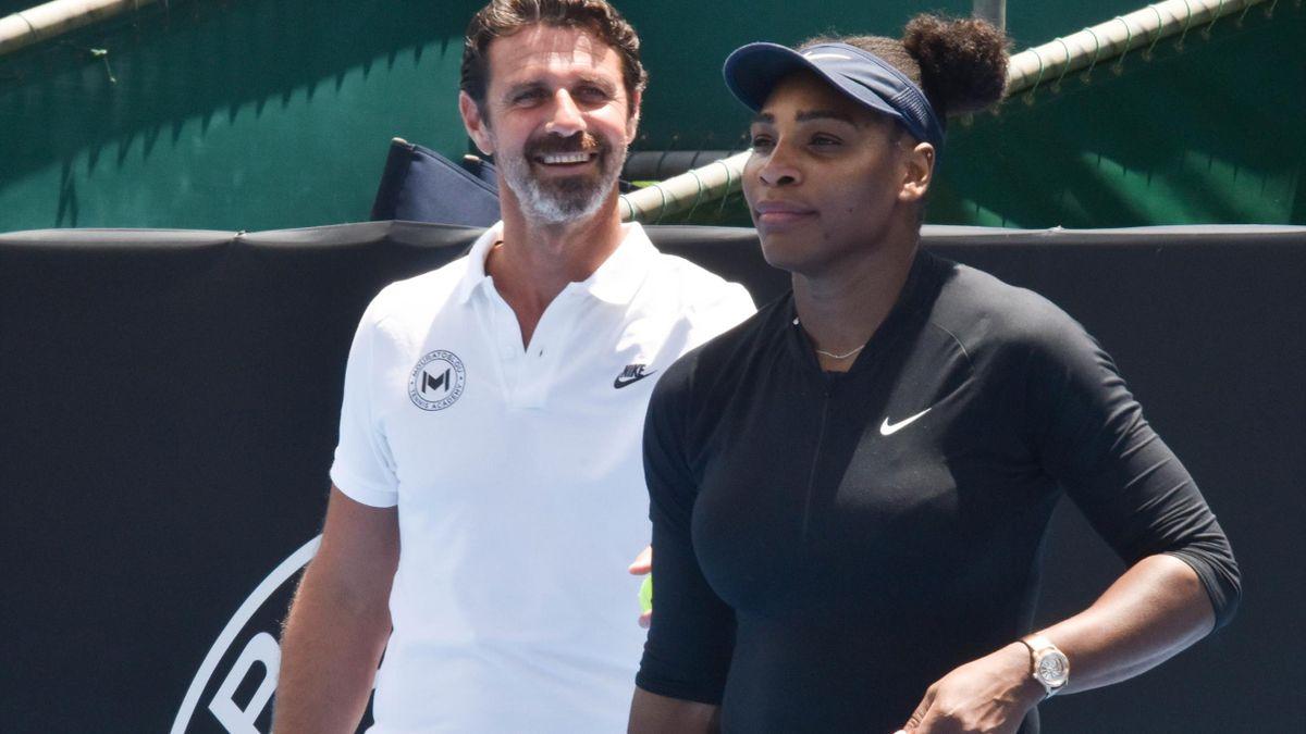 Patrick Mouratoglou & Serena Williams