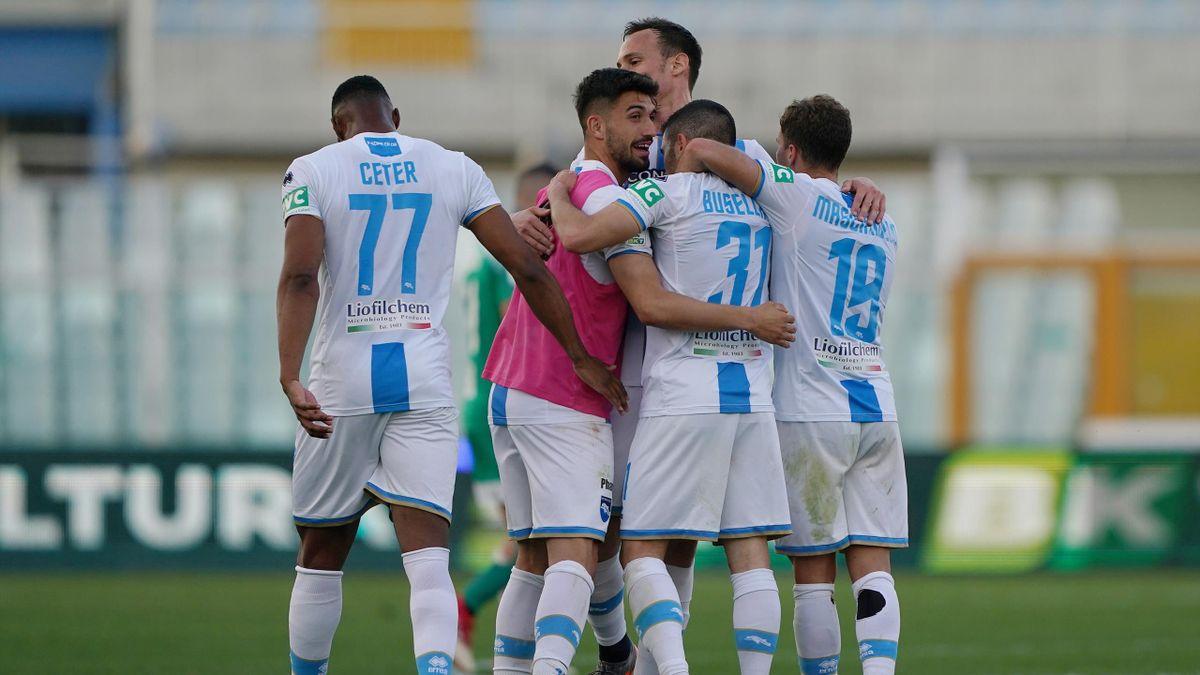 Pescara-Pisa, Serie B 2020-2021: esultanza Pescara (Getty Images)