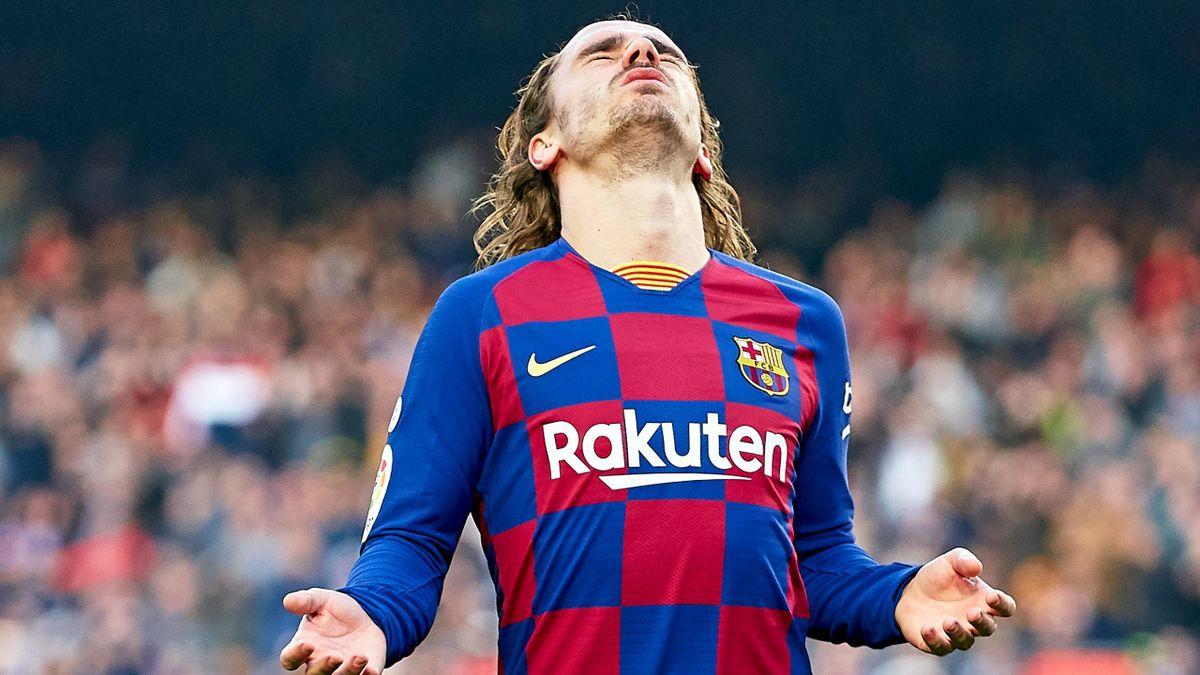 Griezmann nu a convins la Barcelona
