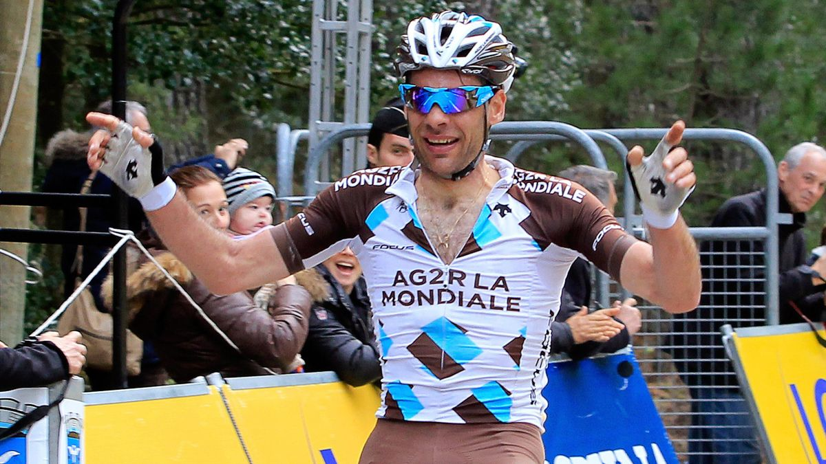 Jean-Christophe Péraud (AG2R La Mondiale) vainqueur du Critérium International
