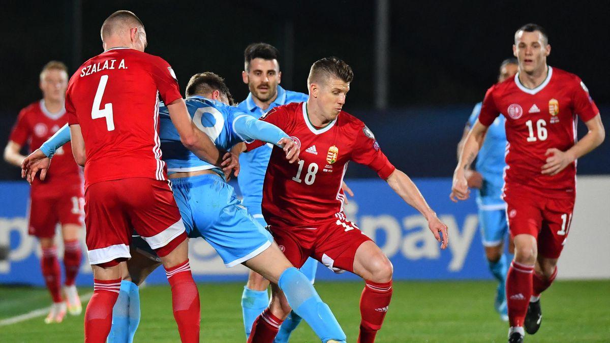 Sigér Dávid a San Marino elleni vb-selejtezőn