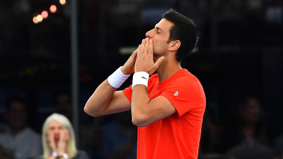Novak Djokovic à Adelaïde