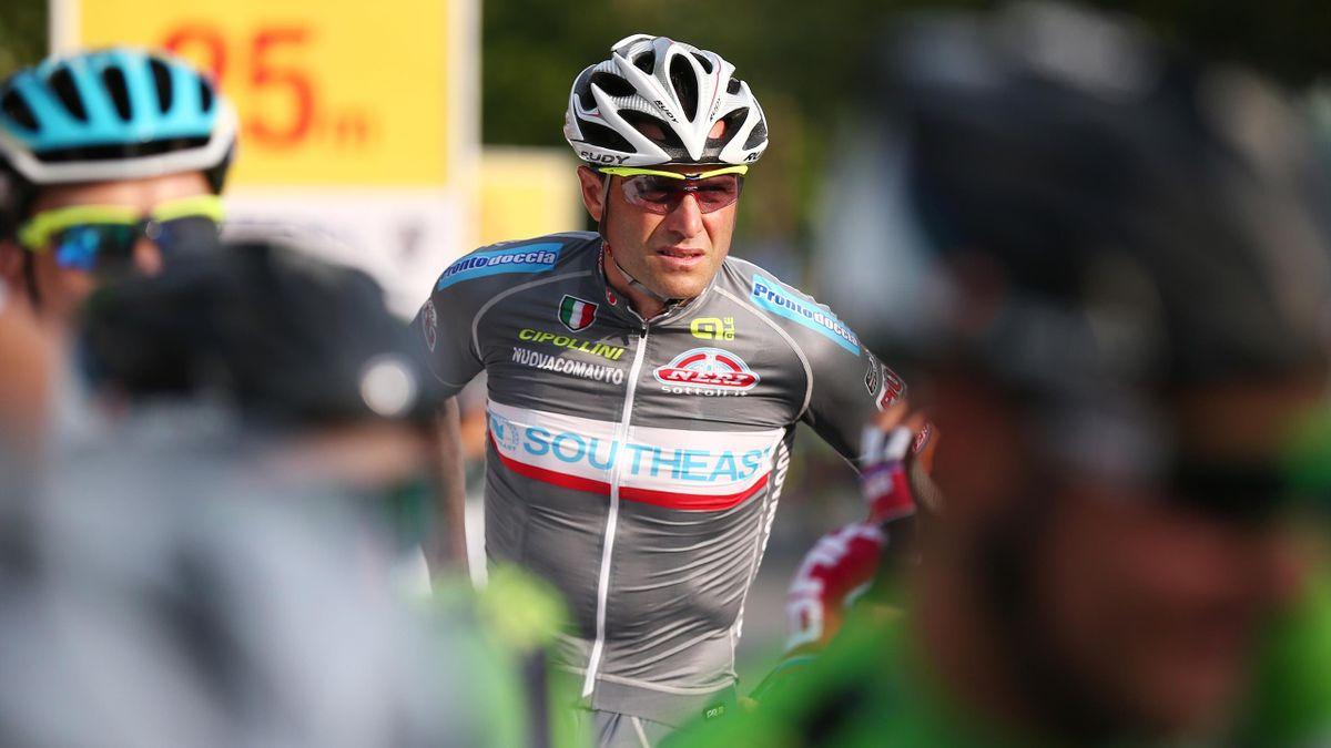 Alessandro Petacchi sur le Tour du Langkawi en 2015