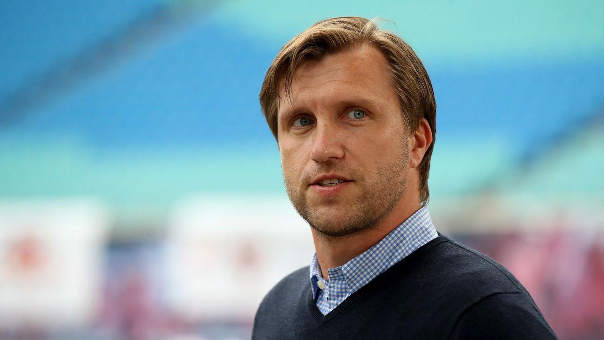 Markus Krösche von RB Leipzig