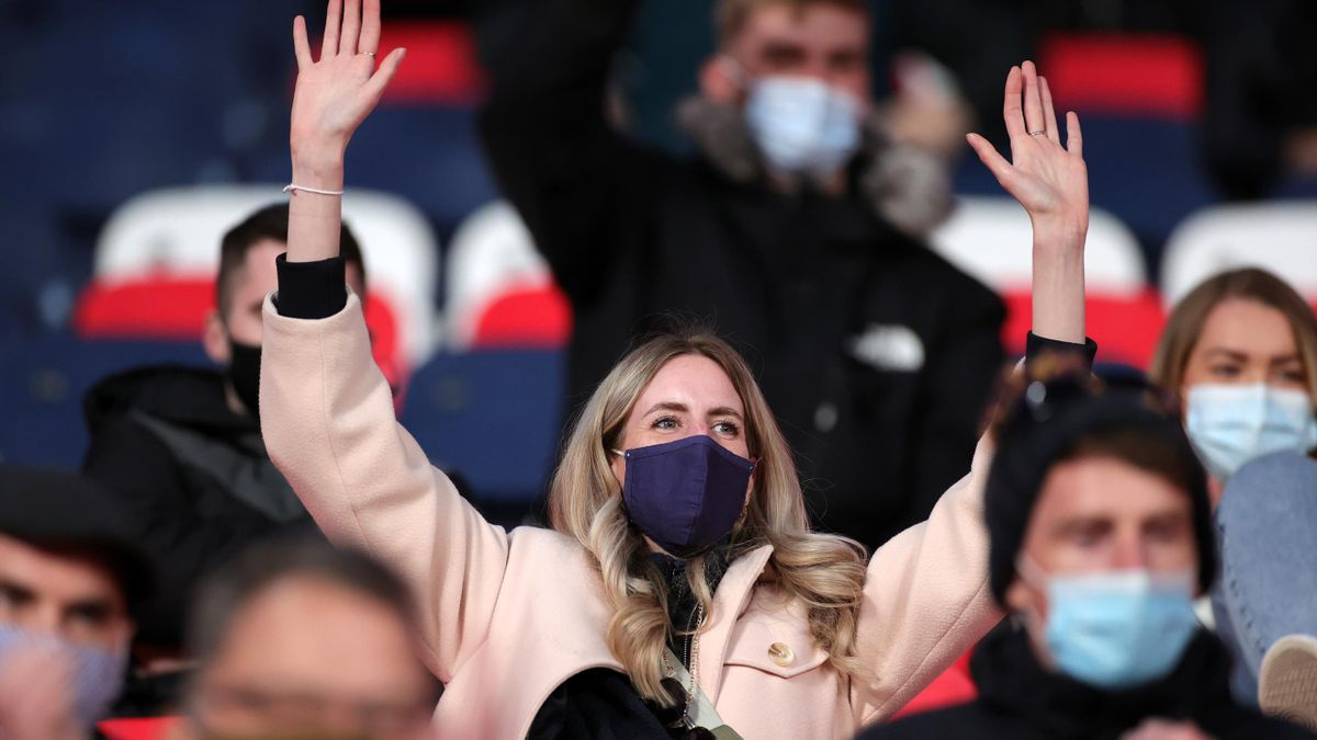 4000 local residents were permitted to attend the two FA Cup semi-finals at Wembley Stadium in April