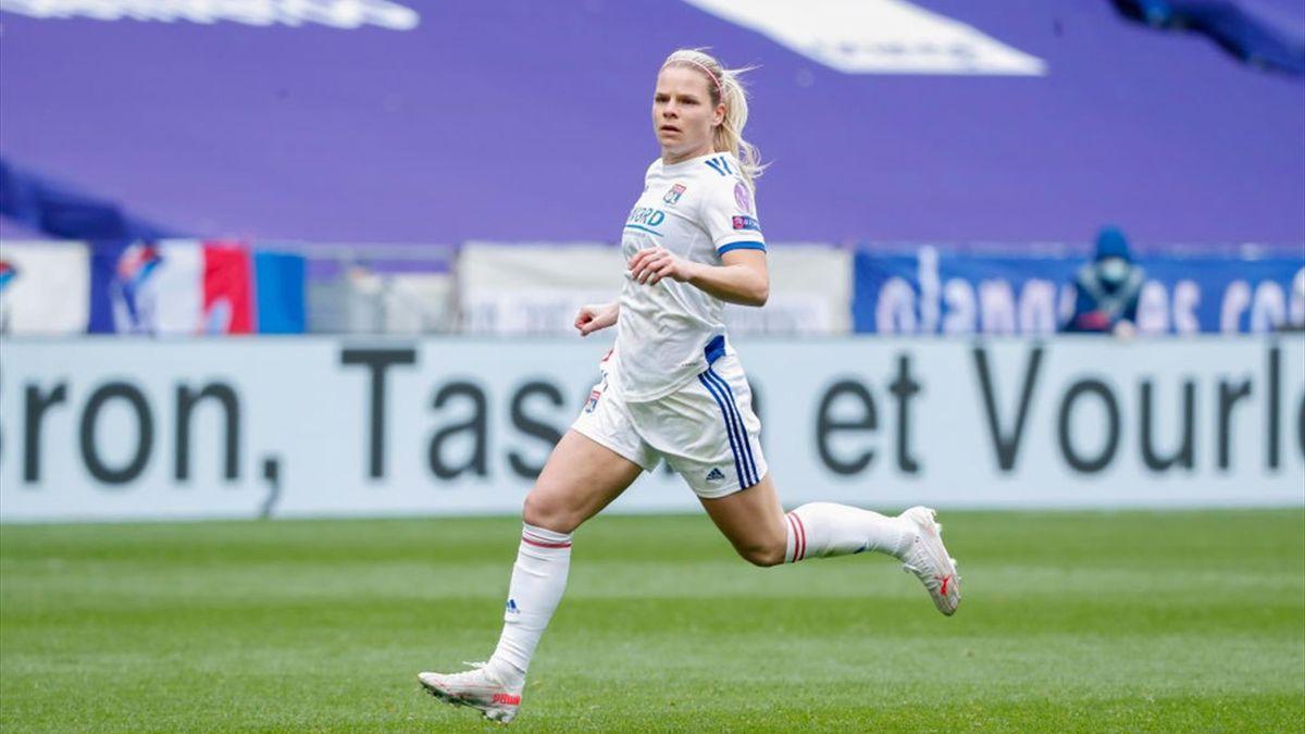Eugénie Le Sommer, l'attaquante de l'OL