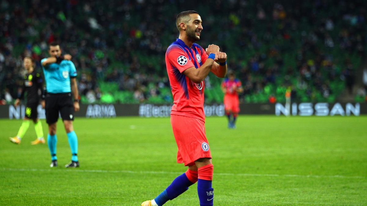 Hakim Ziyech en Ligue des champions