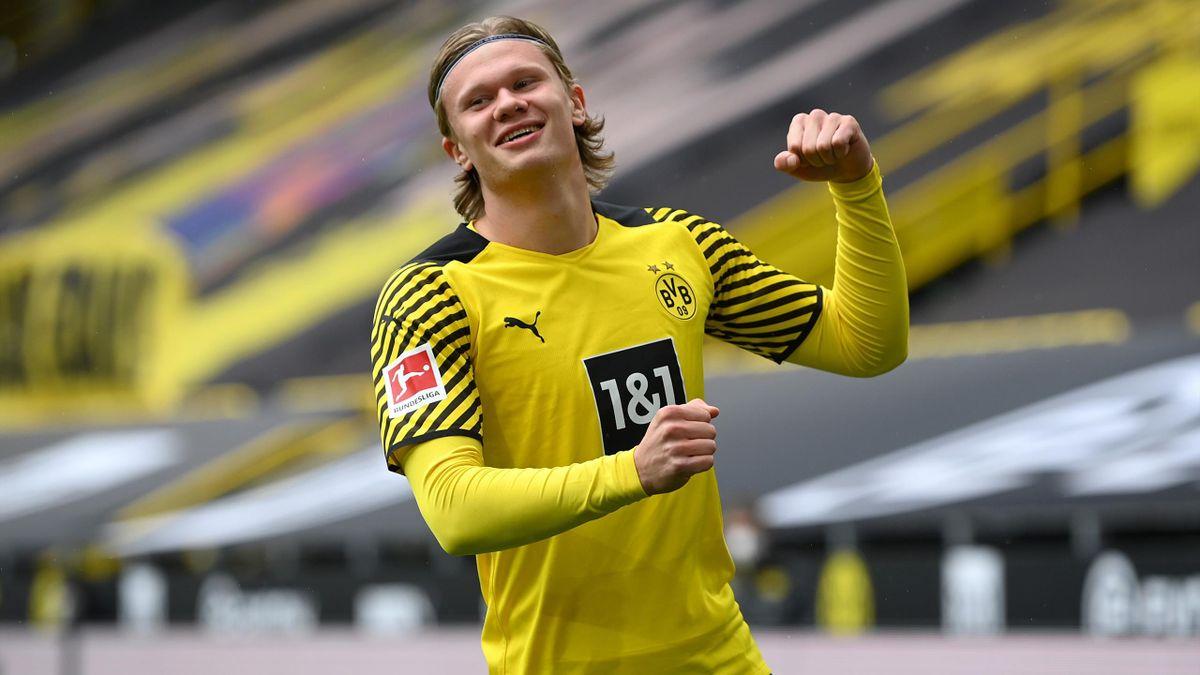 Footabll News Erling Haaland Double Earns Borussia Dortmund Win Over Bayern Leverkusen In Season Finale Eurosport