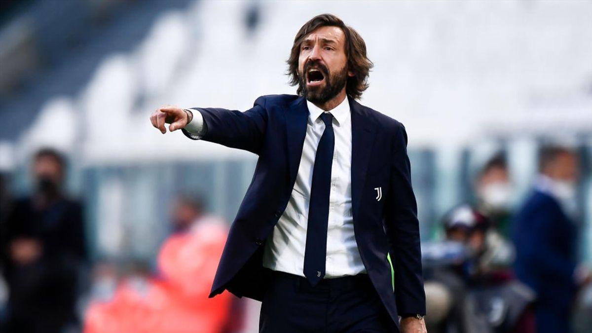 Andrea Pirlo durante Juventus-Inter Serie A 2020-21
