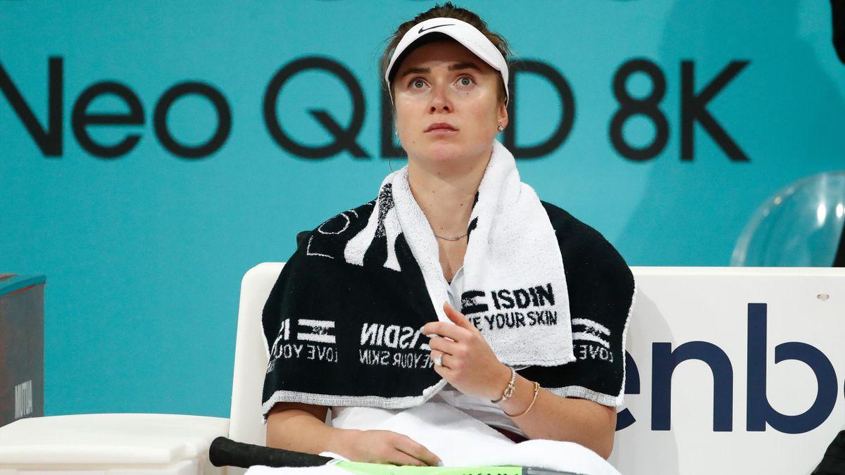 Elina Svitolina à Madrid en 2021