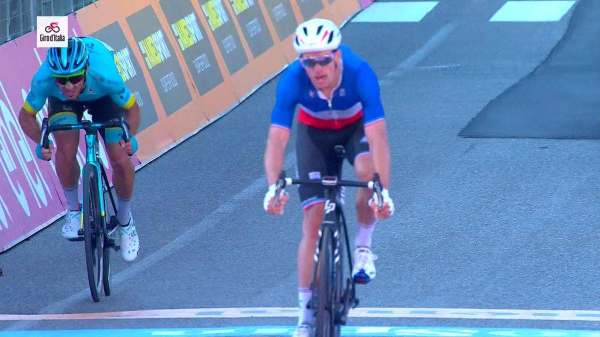 Giro d'Italia - Finish stage 6 - winner Demare