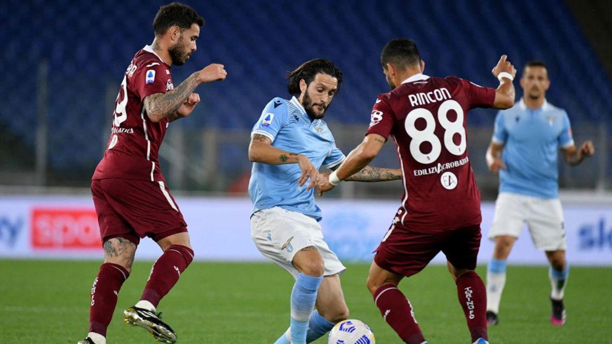 Luis Alberto e Rincon - Lazio-Torino Serie A 2020-21